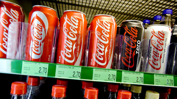 Australian soft drink makers vow to slash sugar by 20%