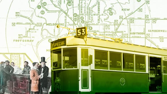 Storyline: time travel through Melbourne's past
