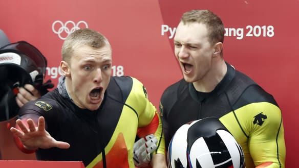 We tied? Chaos after dead heat for bobsleigh gold