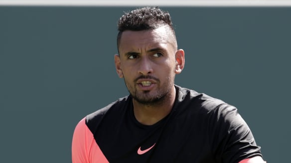 Kyrgios out of Roland Garros with elbow injury