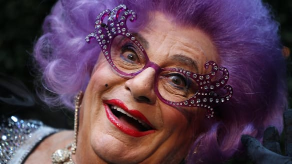 'Shut up and retire': Barry Humphries slammed for transphobic comments