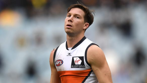 Giants star Toby Greene playing for half-price next year