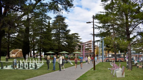 A plan to make Canberra's Haig Park 'safer and more enjoyable'