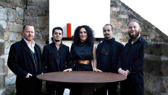 The many sounds of the Zela Margossian Quintet. Photo: Aren Gaspar