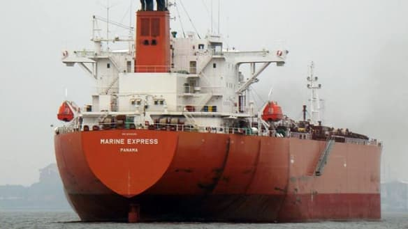 Crew retakes oil tanker from pirates off west Africa coast