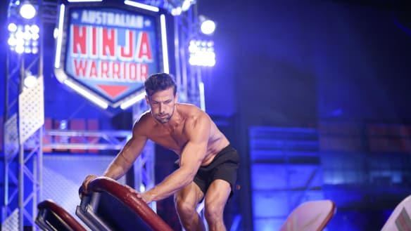 Tim Robards returns to Ninja Warrior as Nine says they're 'pleased' with ratings