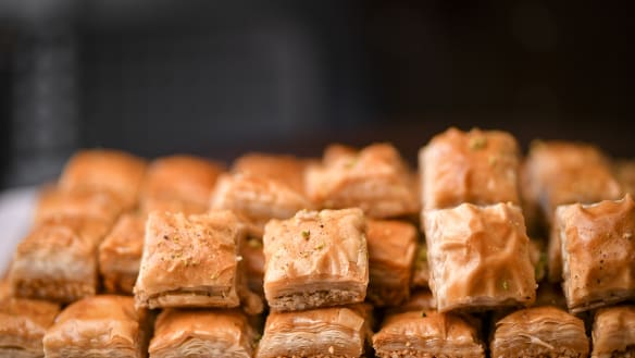 The Syrian refugees who run a Lygon Street pastry shop