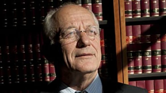 Mr Brown's boys: Lawyers at 20 paces over Trinity Grammar sacking