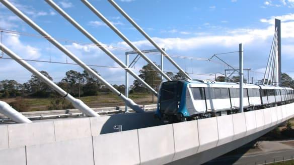 Sydney's first driverless metro train passes major test
