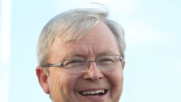 ABC issues apology to Kevin Rudd over cabinet files report