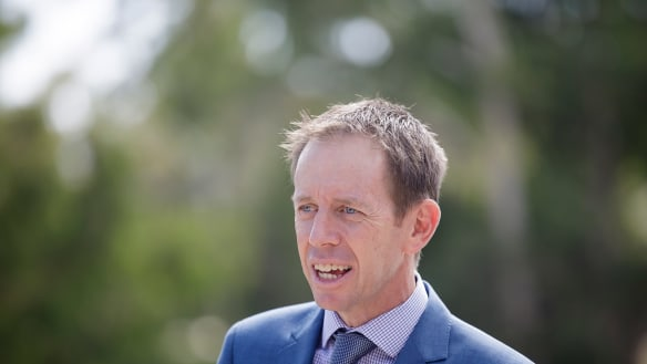 ACT Chief Minister backs Greens' Shane Rattenbury as corrections minister