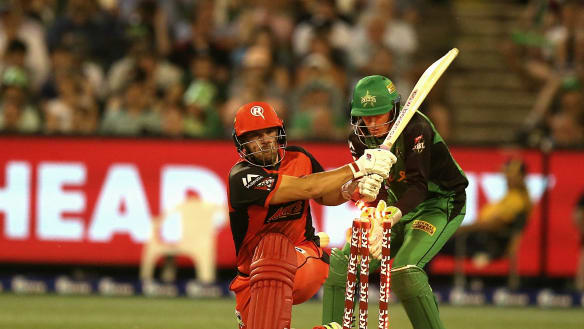 Big Bash derby returns to New Year's Day