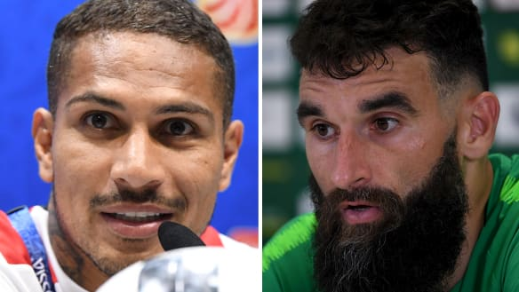 Peru captain Guerrero wants to give Jedinak a 'huge hug' for support