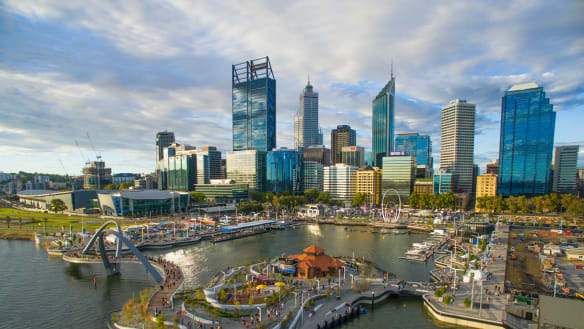 Perth is boring? Yes. And that could be our secret weapon