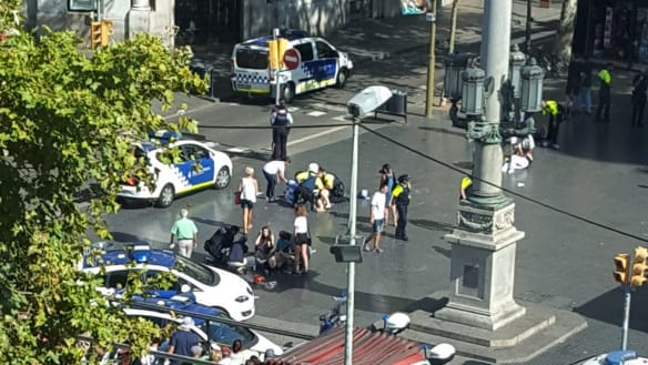 Barcelona terror attack: 'It reminded me of Bourke Street'