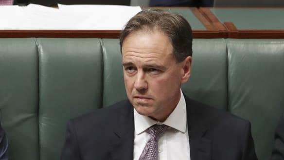 Greg Hunt, the health minister whose bedside manner deserted him