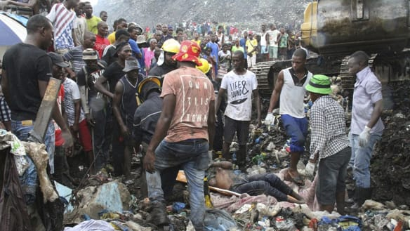Several killed in Mozambique capital as pile of garbage collapses