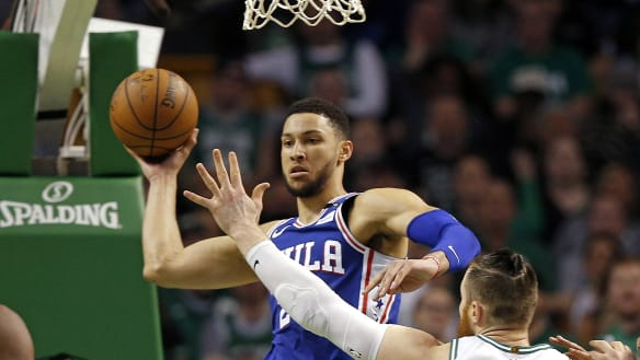 Simmons named to NBA All-Rookie first team