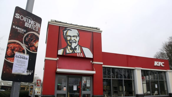 KFC restaurants in the UK have a problem. They have run out of chicken.
