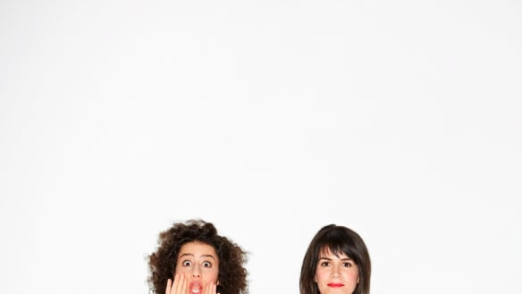 Natural born comedian: Ilana Glazer is an almost compulsive impressionist