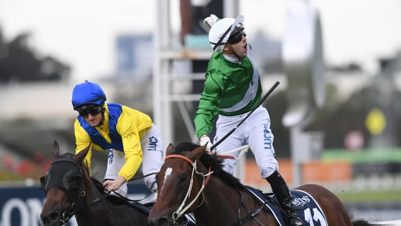 Estijaab had Golden Slipper-winning silks from the start