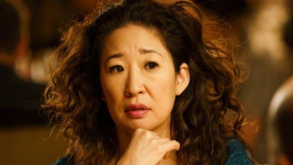 Sandra Oh in Killing Eve.