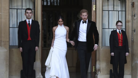 Meghan Markle: the hero in a halter-neck