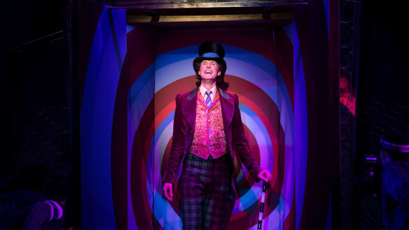 'You can't press pause or rewind': Life backstage at Charlie and the Chocolate Factory