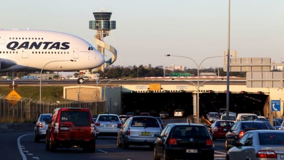 Congested roads overtake aircraft noise as biggest Sydney Airport gripe