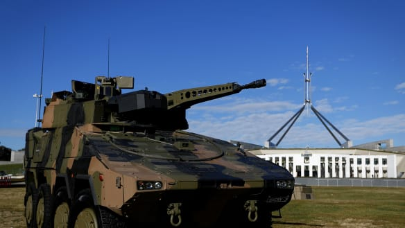Australian steel to armour $5b new tanks fleet
