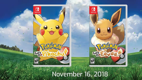 Pokemon Let's Go Eevee and Let's Go Pikachu announced for Nintendo Switch