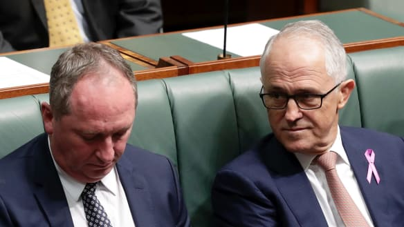 Barnaby Joyce affair shows how when men make abysmal choices, women pay the price