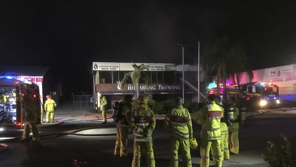 Perth's Billabong Brewery back in business after blaze