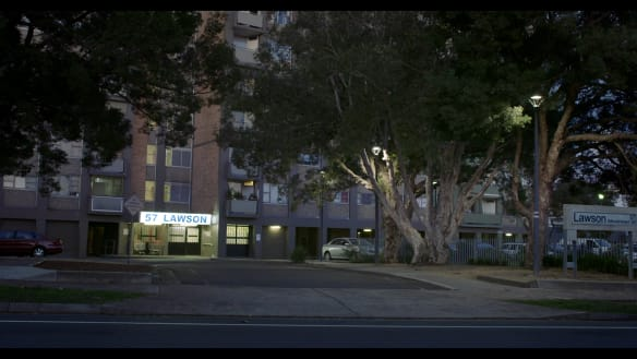 Ben Ferris' film <i>57 Lawson</I> examines the day-to-day realities at the Poet's Corner apartments in the inner-Sydney suburb of Redfern.
