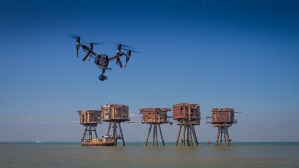Tony Robinson's Hidden Britain by Drone: Exploring spots closed to the public.