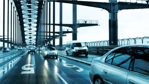 Northbound tolls on the Sydney Harbour Bridge would help pay for the two new tunnels.