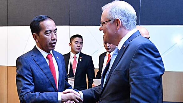 Israel embassy and Indonesia trade deal not related in talks: Morrison