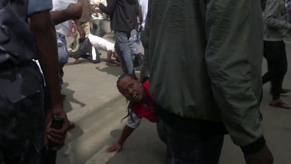Dozens arrested after fatal grenade attack at Ethiopia PM's rally