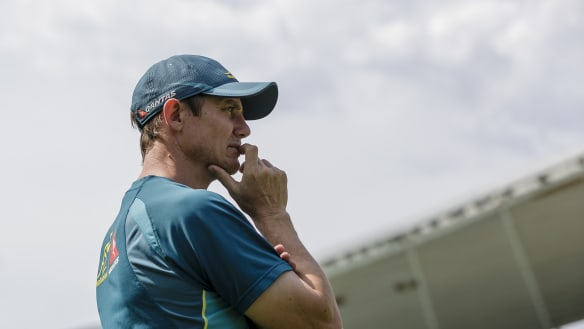 Stephen Larkham says he has things to work on before he could put hand up to coach Wallabies