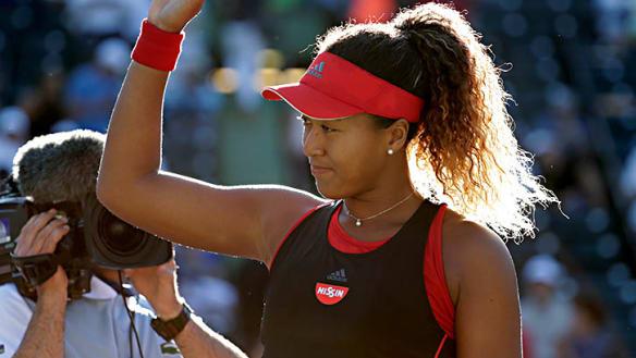Osaka beats Serena Williams in straight sets
