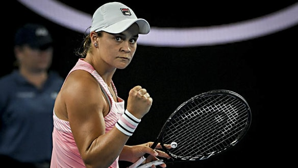 Barty into the fourth round