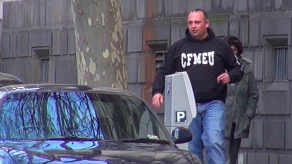 Joint police taskforce investigates senior CFMEU official