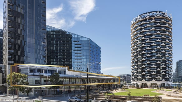 Docklands strata offices sell for $7.25m