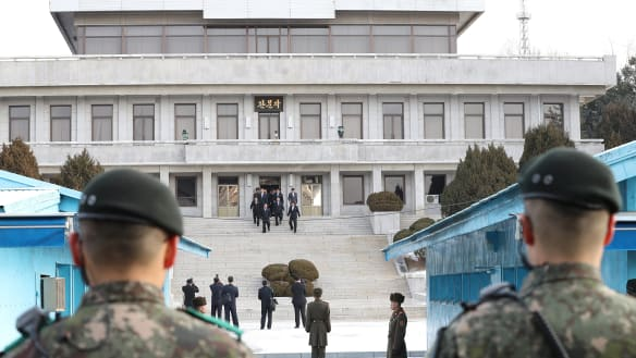 Treaty to formally end Korean War is being discussed, South confirms