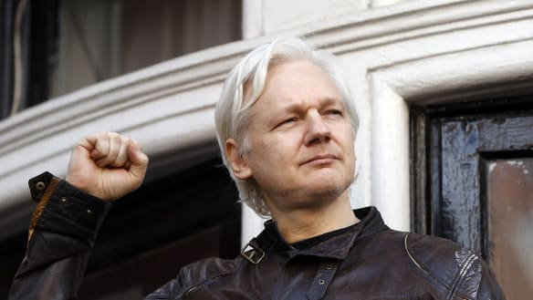 'He's cut off from everybody': Pamela Anderson fears for Assange