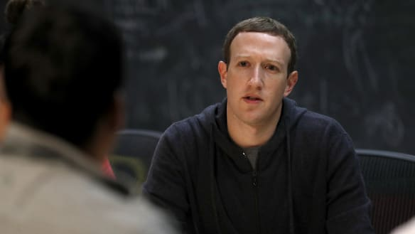 Zuckerberg's interview is scary because it's clear he's not in control