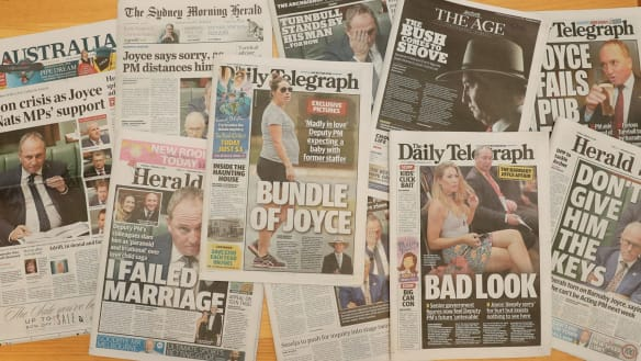 We need relief from Barnaby Joyce's public, not private, self