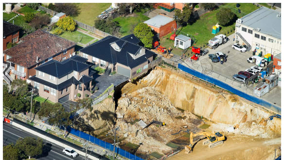 Engineer fined $480,000 over Mount Waverley building site pit collapse
