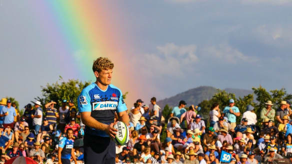 Experienced Waratahs won't accept anything but victory against Rebels