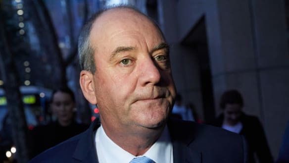 Disgraced MP Daryl Maguire says 'business as usual' in Wagga Wagga